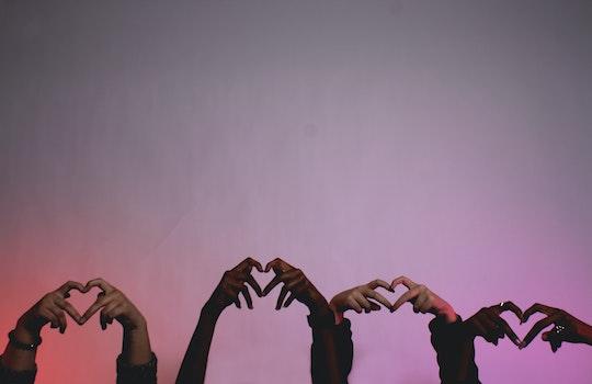 Free stock photo of hands, love, heart, hand