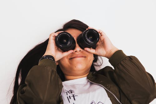Free stock photo of eyes, girl, lens