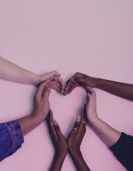 Free stock photo of hands, love, heart