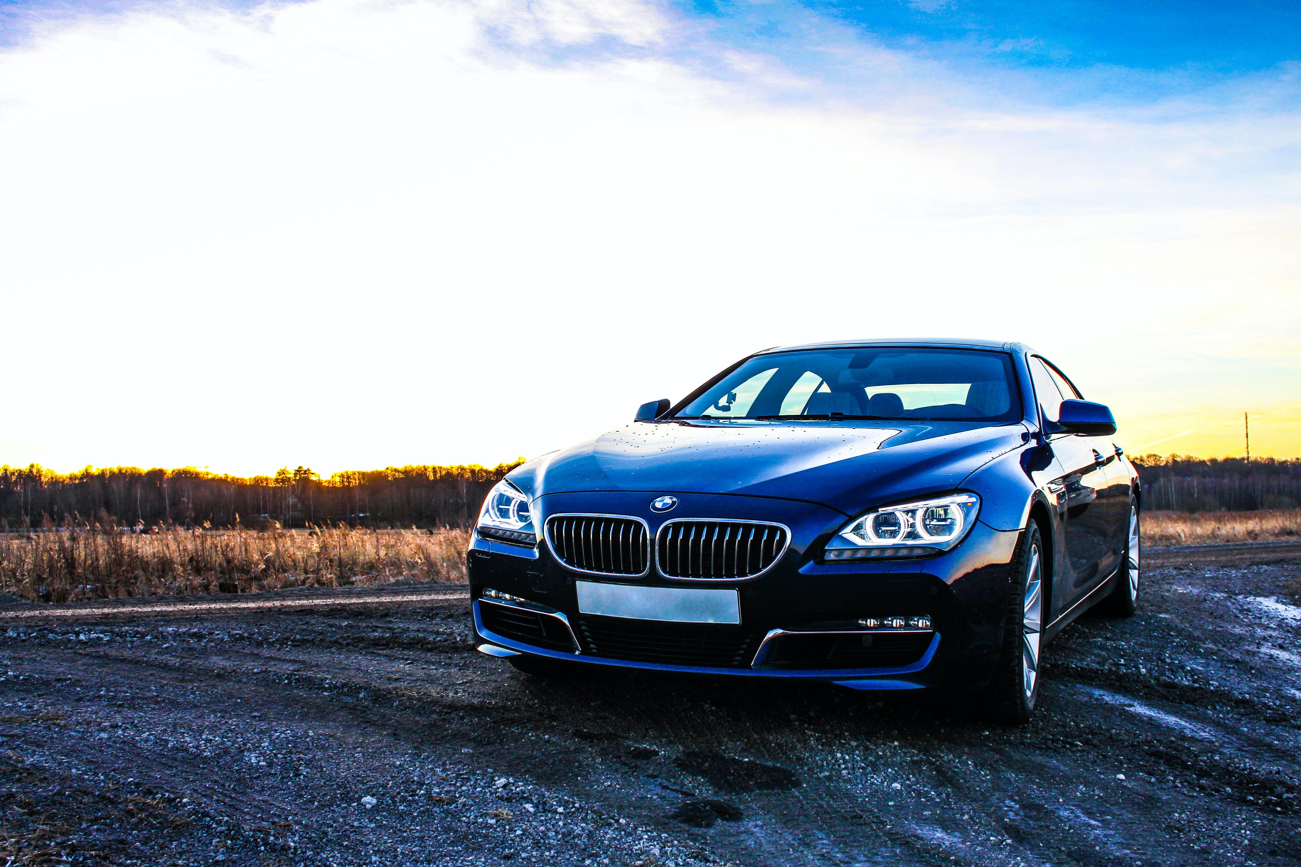 Δωρεάν στοκ φωτογραφιών με bmw 640d, αυτοκίνητο, δύση του ηλίου, καιρός