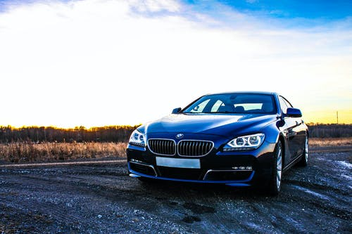 Free stock photo of BMW 640D, car, sunset, weather