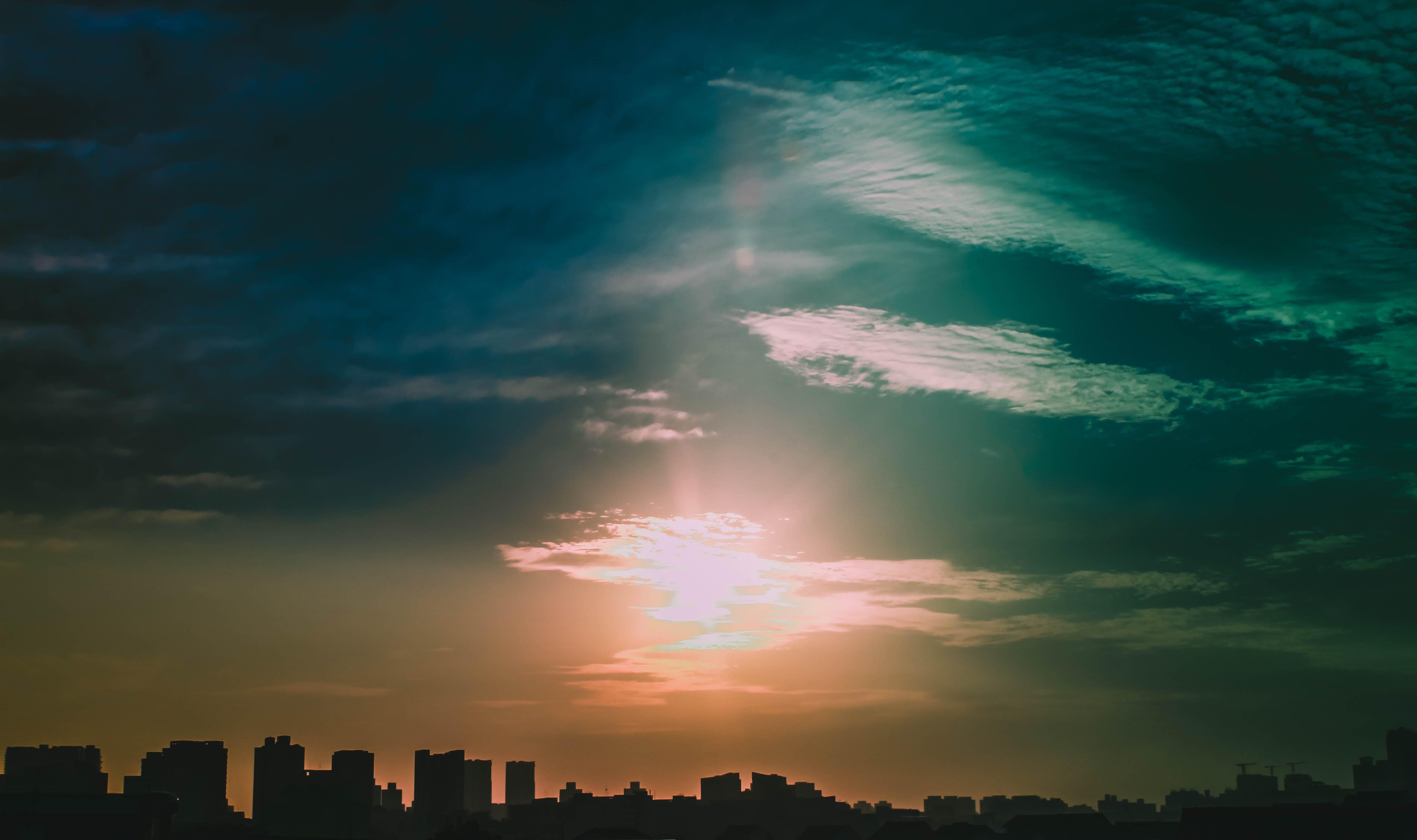 Free stock photo of horizon, sunrise