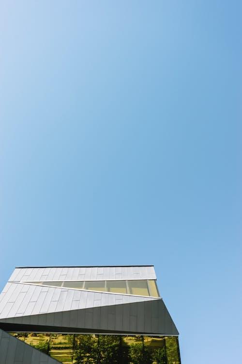 Foto d'estoc gratuïta de a l'aire lliure, arquitectura, blau, casa