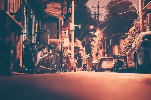 Δωρεάν στοκ φωτογραφιών με 人文, 北京, 夜night, 夜景
