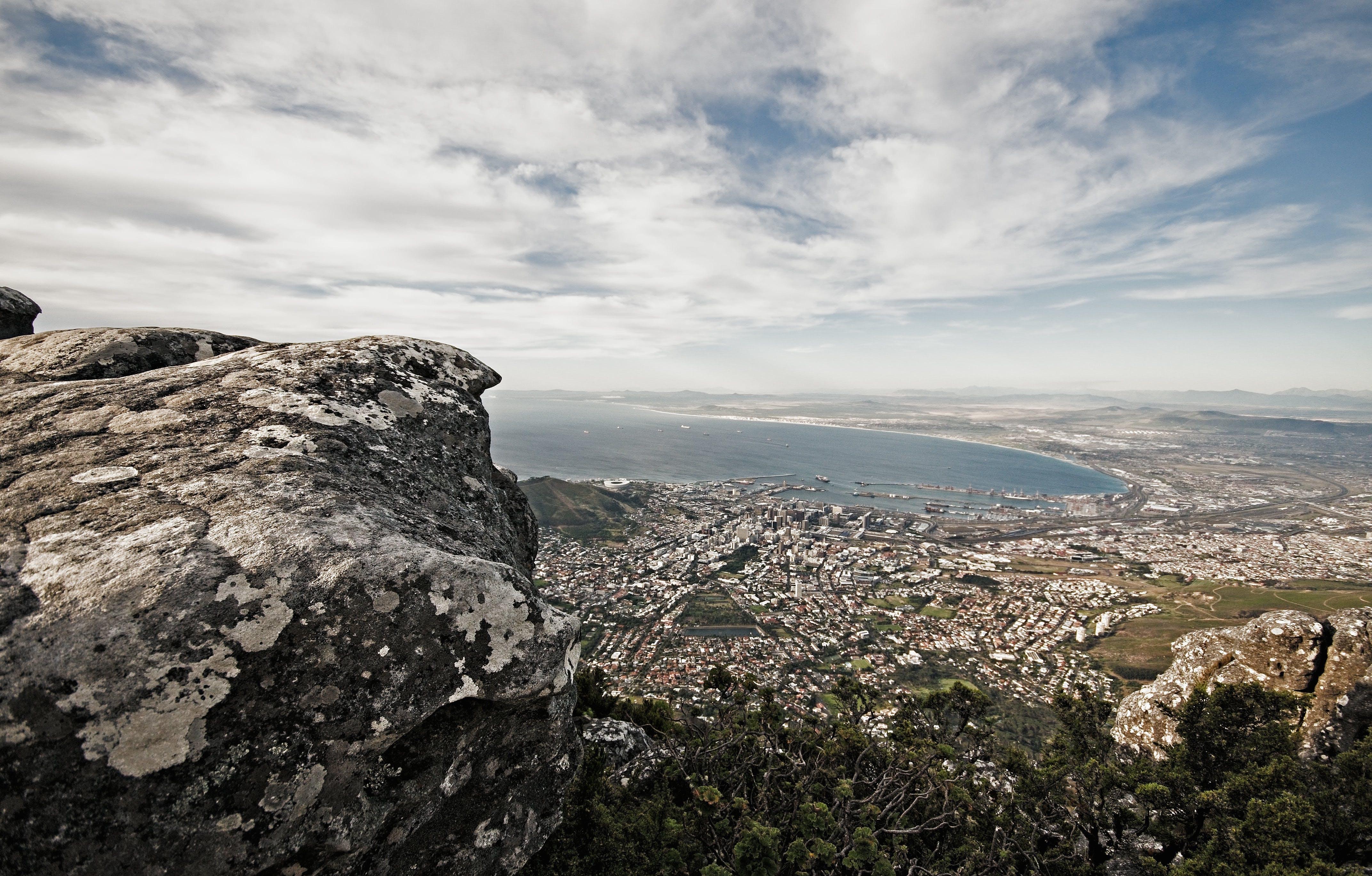 bulutlar, deniz, deniz kıyısı, deniz manzarası içeren Ücretsiz stok fotoğraf