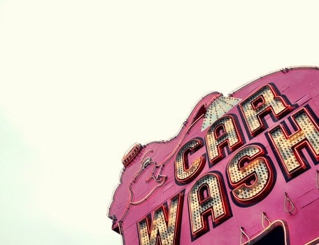 Free stock photo of lights, sign, pink, seattle