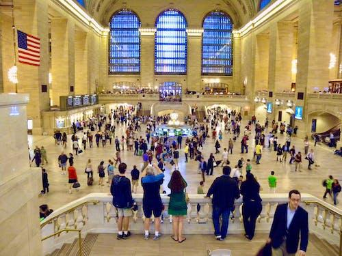 Δωρεάν στοκ φωτογραφιών με grand central station, σιδηροδρομικός σταθμός