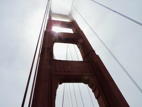 Δωρεάν στοκ φωτογραφιών με golden pylon gate, γέφυρα, ομίχλη