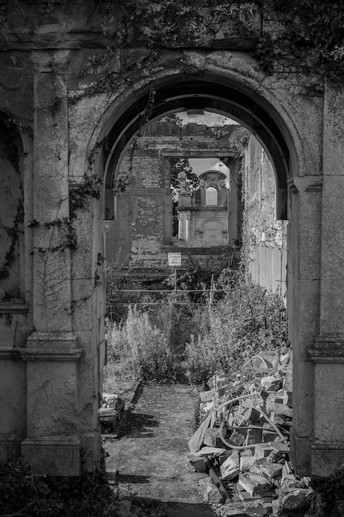 Free stock photo of arch, danger, delapidated
