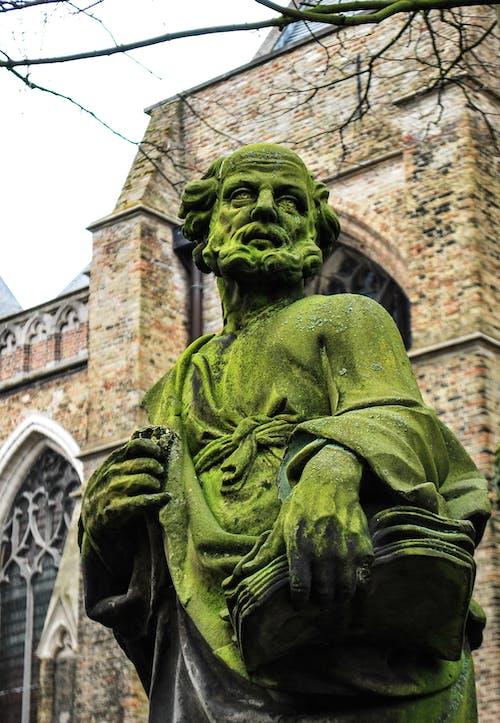 Gratis arkivbilde med brugges, gotisk, kirke, skulptur