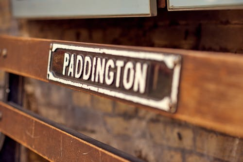 Brown and White Paddington Board