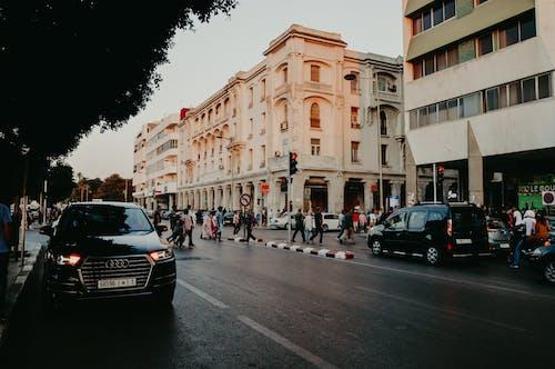 คลังภาพถ่ายฟรี ของ คลาสสิก, ถนน, บ้าน, ประชาชน