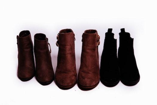 Free stock photo of fashion, white, background, boots
