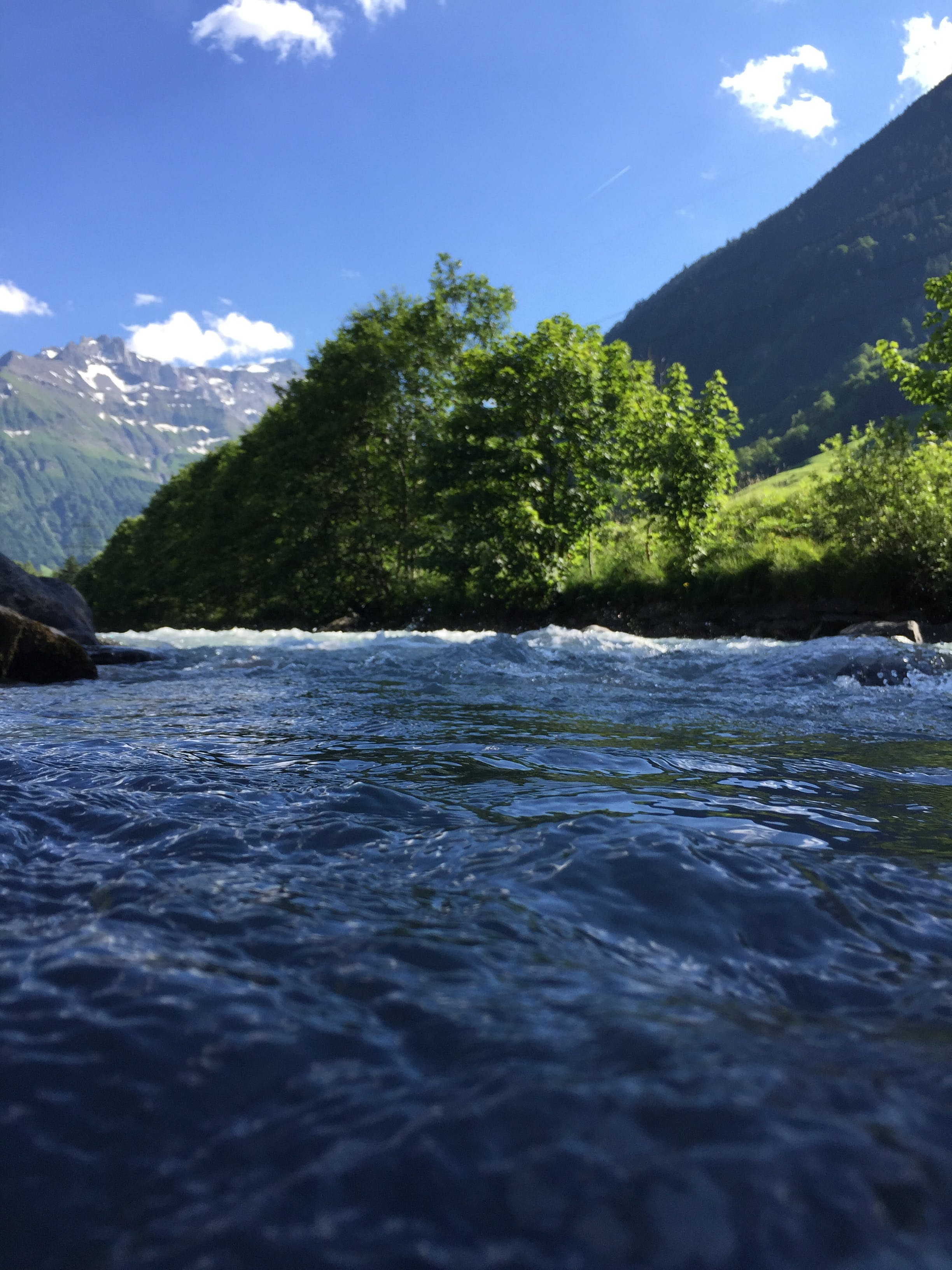 Free stock photo of blue water, mountain, nature, river