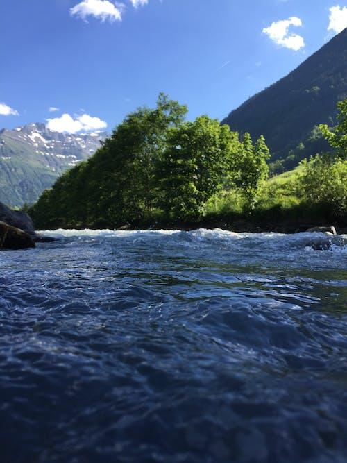 Free stock photo of blue water, mountain, nature, switzerland