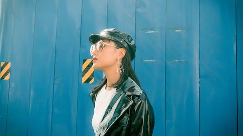 时尚摄影, 时装拍摄, 时装模特, 街头风 的 免费素材照片