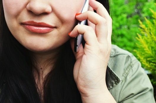 Free stock photo of person, woman, smartphone, calling