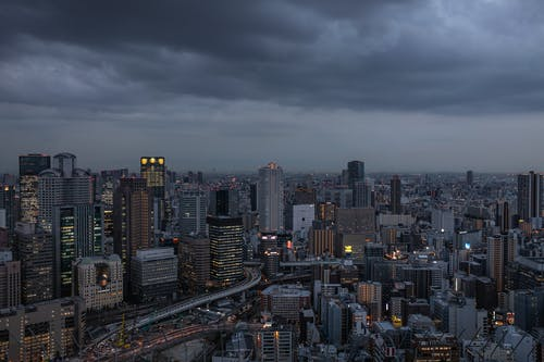 Free stock photo of cities at night, cityscape, cityscape japan, cityscapes