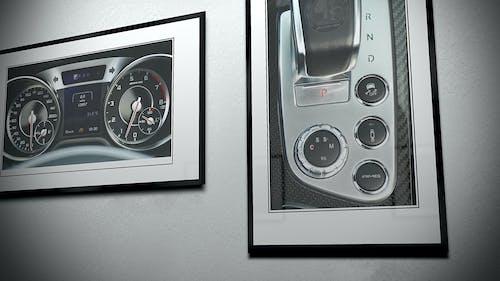 Immagine gratuita di auto sportiva, cornice, interni auto, mercedes-benz
