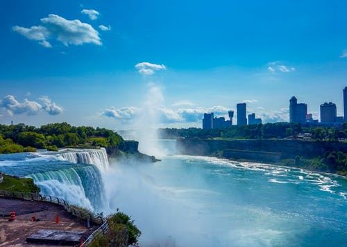 Photos gratuites de brume, cascades, Chutes du Niagara, eau