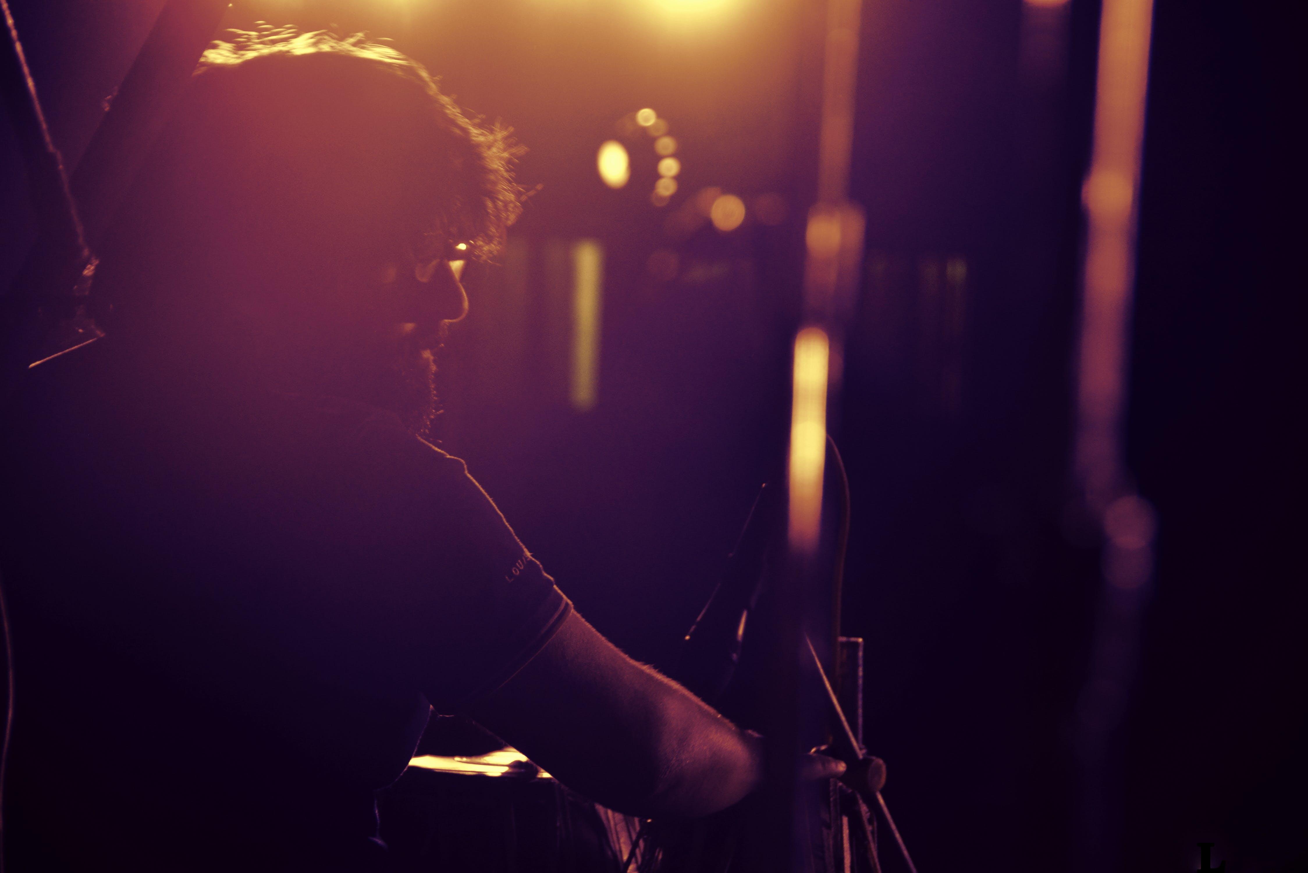Free stock photo of artist, concert, live performance, night