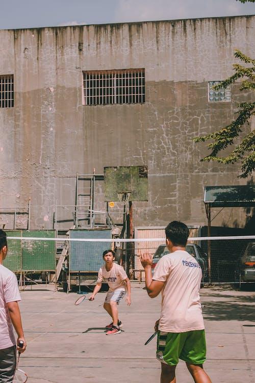 actie, badminton, bordspel