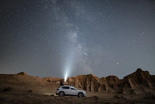 SUV, おとこ, ダーク, 不毛の無料の写真素材