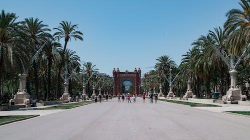 凱旋門, 城市, 城市公園, 城市生活 的 免费素材照片