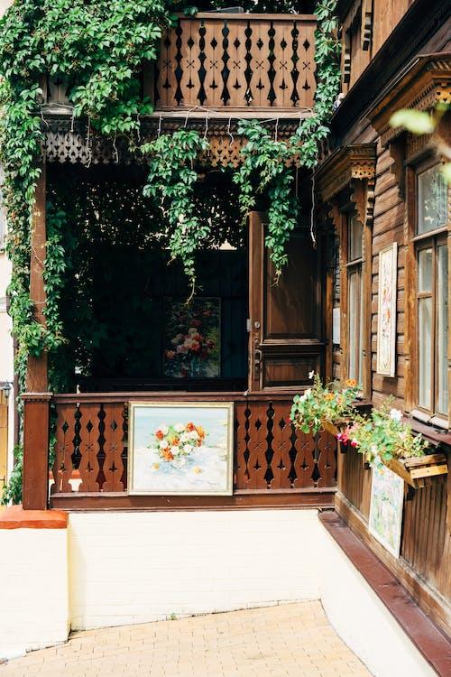 Δωρεάν στοκ φωτογραφιών με ανατολή, είσοδος, κίεβο, μπαλκόνι