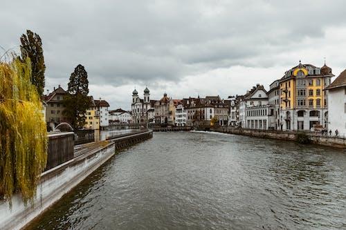 Immagine gratuita di acqua, architettura, business, canale