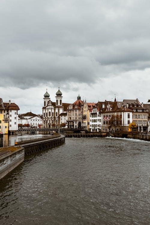 區域, 卢塞恩, 商業, 城市 的 免费素材照片