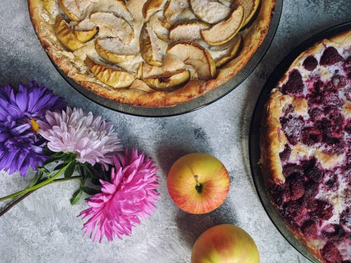 Ingyenes stockfotó almák, asztal, cukrászsütemény, dekor témában
