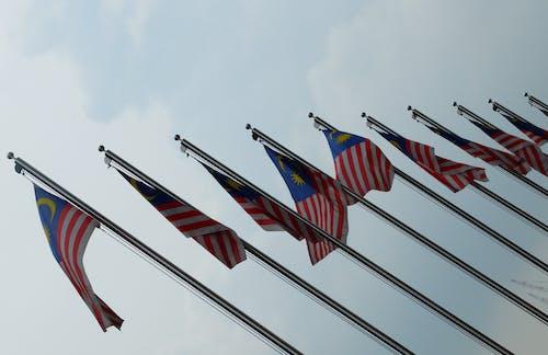 Foto d'estoc gratuïta de banderes de malàisia