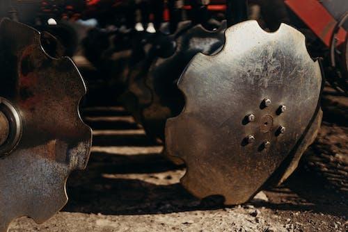 Foto d'estoc gratuïta de acer, arada, ferro, metàl·lic