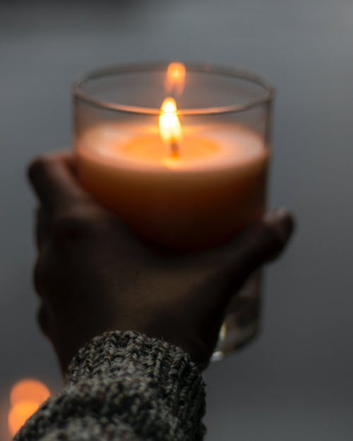 Free stock photo of autumn, candle, cold, fall