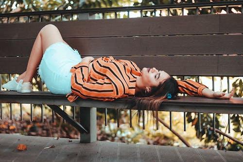 10月, モデル, 女の子, 女性の無料の写真素材