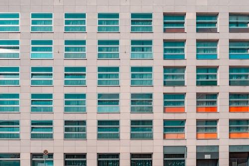 Fotos de stock gratuitas de al aire libre, arquitectura, cuadrícula, detalle arquitectónico