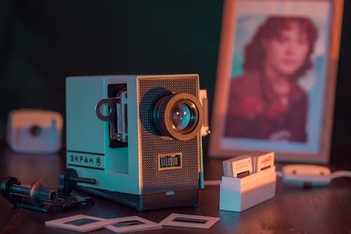 Vintage Gray Camera