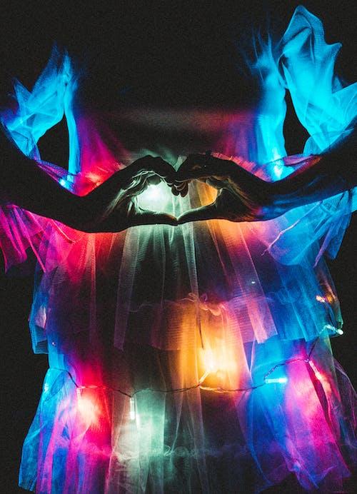 개념, 네온, 다채로운, 불빛의 무료 스톡 사진