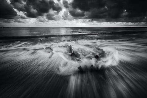招手, 日落, 晚間, 暴風雨 的 免費圖庫相片