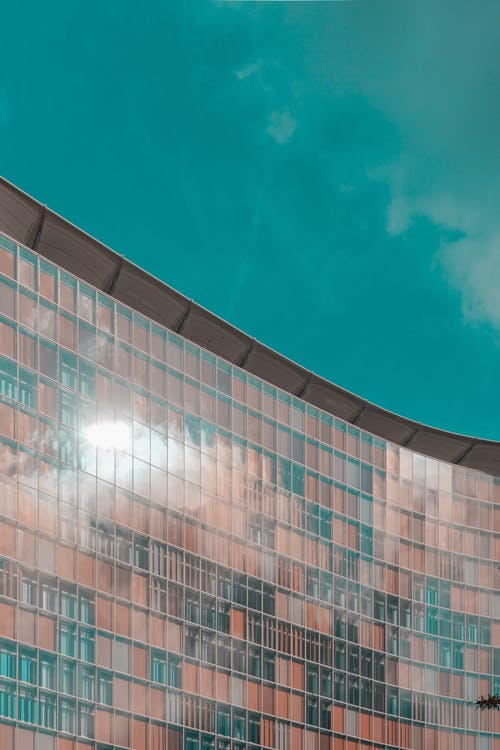 Ingyenes stockfotó ablakok, berlin, ég, építészet témában