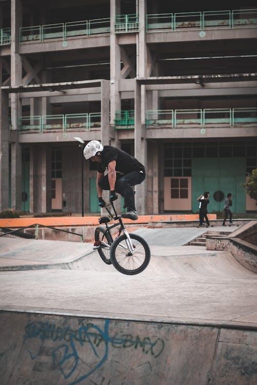 andare in bicicletta, architettura, attivo