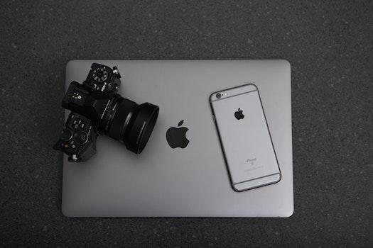 Kostenloses Stock Foto zu apfel, kamera, iphone, smartphone