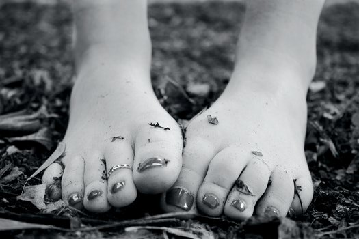 Free stock photo of feet, girl, ground, white