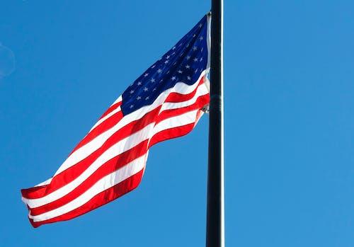 Δωρεάν στοκ φωτογραφιών με pride, αμερικάνικη σημαία, Αμερική, άνεμος