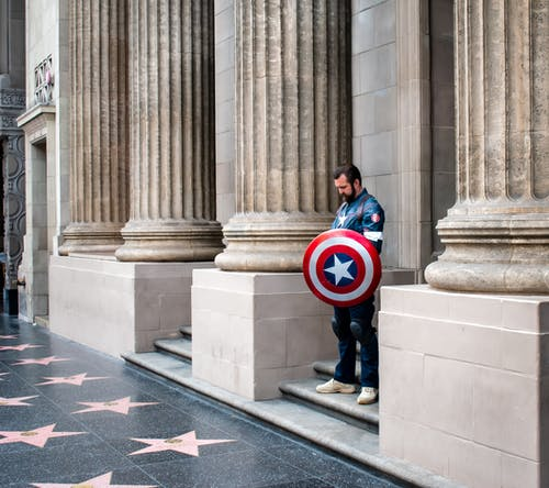 獨自, 美国队长, 队长 的 免费素材照片