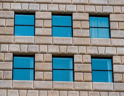 建筑细节, 建築, 磚塊, 視窗 的 免费素材照片