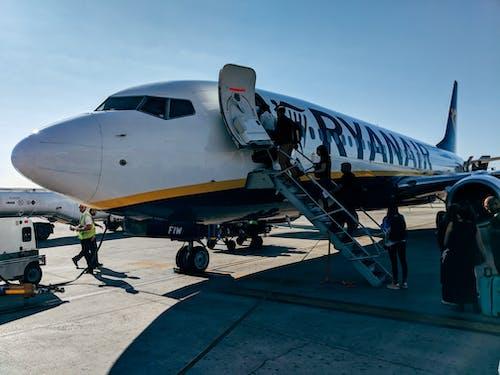 Δωρεάν στοκ φωτογραφιών με 737, boeing, lcc, ryanair