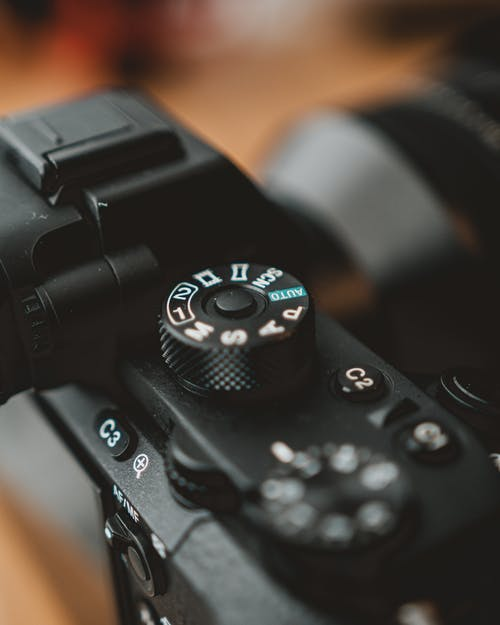Black Classic Camera Close-up Photography