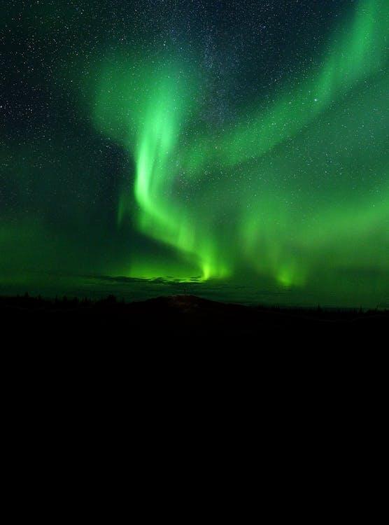 aurora borealis, avaruus, fantasia